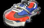 Corps Sneakart rouge bleu