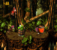 DKC2 Screenshot Klobber-Chaos 2