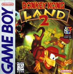 Donkey Kong Land 2 - North American Cover