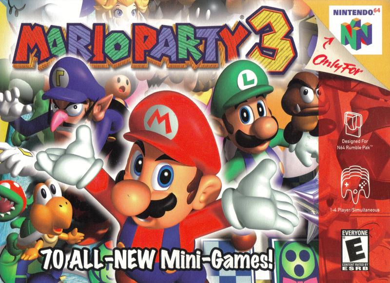 list of mario party games for gamecube fandifavicom