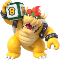 Art Bowser Super Mario Party