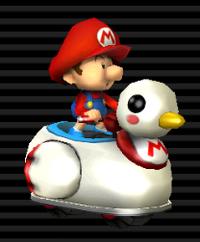 Coin-coin Bébé Mario