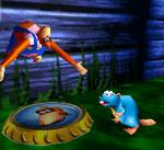 DK64 Screenshot Kong-Platte
