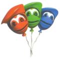 DKC3 Artwork Extraleben-Ballons