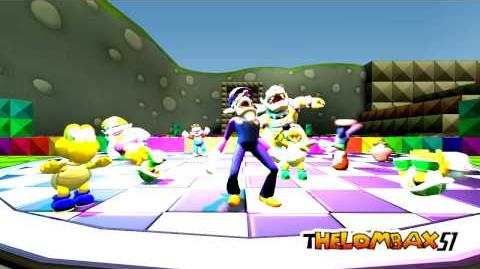 SFM - Waluigi Harlem Shake Original Video
