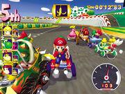 Circuito de Luigi Mario y Luigi MKDD