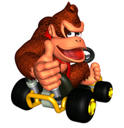 MKSC Artwork Donkey Kong
