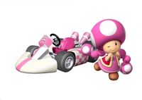 MKW Artwork Toadette