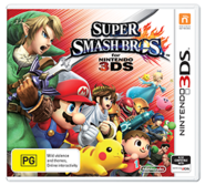 Super Smash Bros for Nintendo 3DS Australian boxart