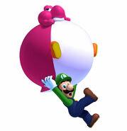 Luigi y Yoshi Globo U