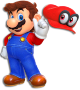 Mario artwork oddysey