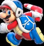 SM3DW Artwork Bumerang-Mario