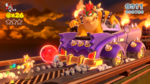 SM3DW Screenshot Bowser gibt Gas