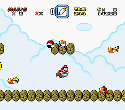 SMW Screenshot Butter Brücke 2