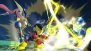 Elec Man vs Mega Man