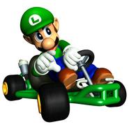 MKSC Artwork Luigi