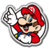 MKT-Badge Mario