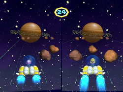MP6 Screenshot Asteroidenslalom