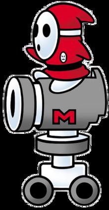 Autobomb Art (Super Mario Bros. 2)