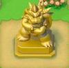 Gold Bowser Statue (Super Mario Run)