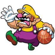 Mario Slam Basketball -Wario