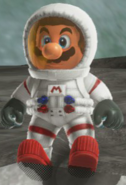 Mario cosmonaute - SMO