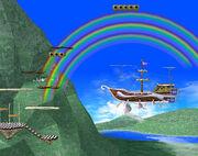 Rainbow Ride Brawl