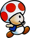Super Mario Bros 2 - Toad (artwork)