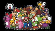 Club Nintendo Mario Characters Artwork