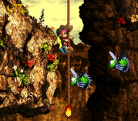 DKC3 Screenshot Lunten-Lupf