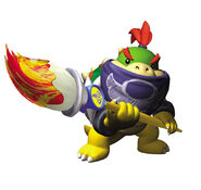 SMS Artwork Bowser Jr.