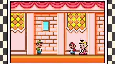 Super Mario Advance 4 Super Mario Bros 3 (GBA) Intro