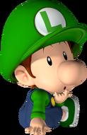 Baby Luigi sitting