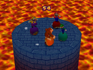 Bumper Balls Level 1 - Mario Party 2