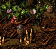 DKC2 Screenshot Klobber-Chaos 7