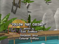 Follow That Coconut