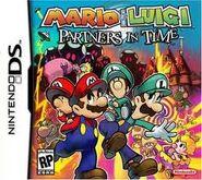 Mario & Luigi-Partners in Time Cover