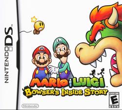 Mario & Luigi - Bowser's Inside Story Box (North America)