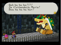 PM fort koopa bowser faux