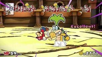 Paper Mario Color Splash Color Slurp Now Available Wii U 15 US TV Commercial