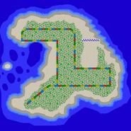 Plage Koopa 2 - MKDS (carte)