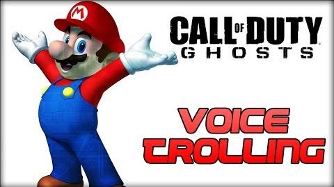 CoD Ghosts Super Mario Voice Trolling by EyeLikeeCheese