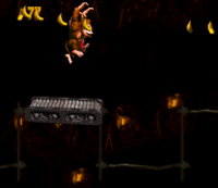 DKC Screenshot Trick Track Treck