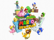 Nintendo, Super Mario 3D World, Artwork