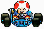 Toad Artwork (Super Mario Kart)
