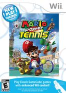 Wii new play control mario power tennis