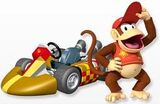 Diddy Kong MKWii