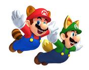 Mario Mapache y Luigi Mapache