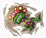 SSBB Aufkleber Mutant-Tyranha