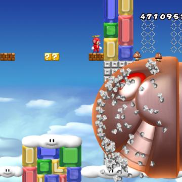 World 8-5 - New Super Mario Wii Wiki Guide - IGN
